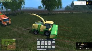 farming simulator 2015 doing some more Grass silage
