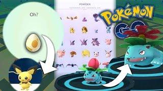 Pichu - ERSTES BABY POKEMON + BISAFLOR entwickelt • Pokemon Go deutsch