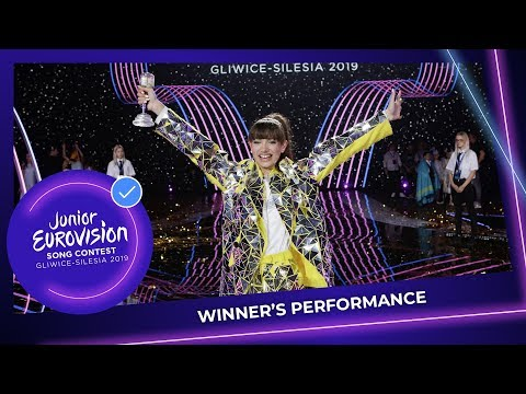 Viki Gabor - Superhero - Winning Performance - Junior Eurovision 2019