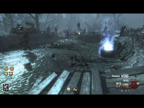 Black Ops 2 Zombies: Origins  Amazing New Fire Punch!