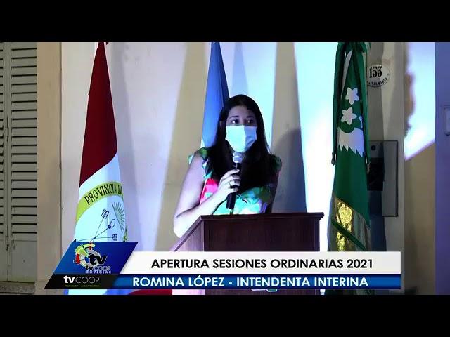 San Guillermo: Apertura de sesiones ordinarias 2021