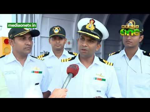 INS sarvekshak goes green instals solar power system