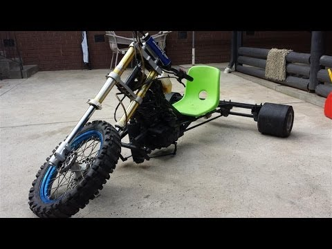 Zongshen 250cc 5spd Motorised Drift Trike 110km H Youtube