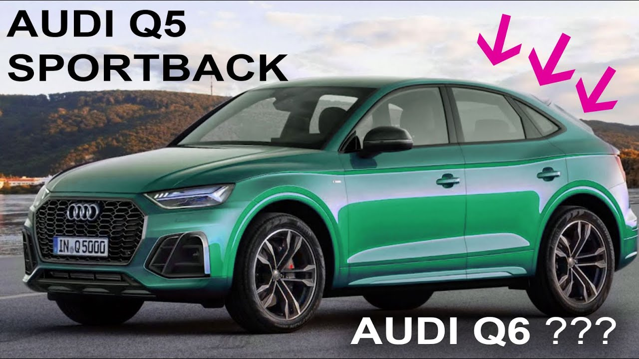 Meet Audi Q4 II Sportback 4 or Audi Q4 4 as New Q4 Coupe FY MK4 with  Facelift before Release