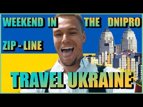Weekend in the Dnipro 2020 #travelukraine #zipline #ukraine #dnipro