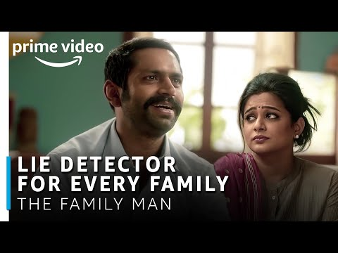 Lie Detector for Every Family | The Family Man | Manoj Bajpayee, Sharib Hashmi, Priyamani from YouTube · Duration:  3 minutes 59 seconds