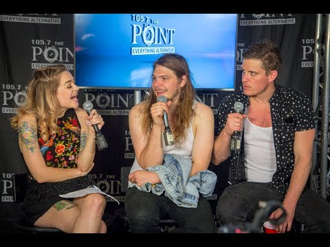 The Glorious Sons talk touring, writing, and more backstage at Pointfest