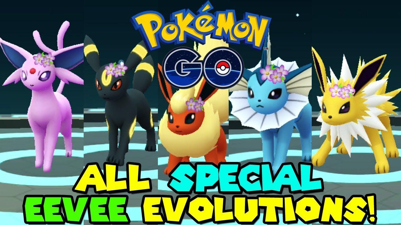 pokemon go eevee evolve