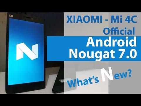 Xiaomi Mi 4c Official Android 7.0 Nougat Beta China