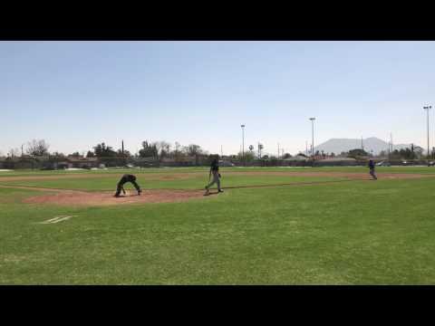 Summit high school freshman baseball team vs Fontana high 2017 bottom of 3rd thru 7th inning