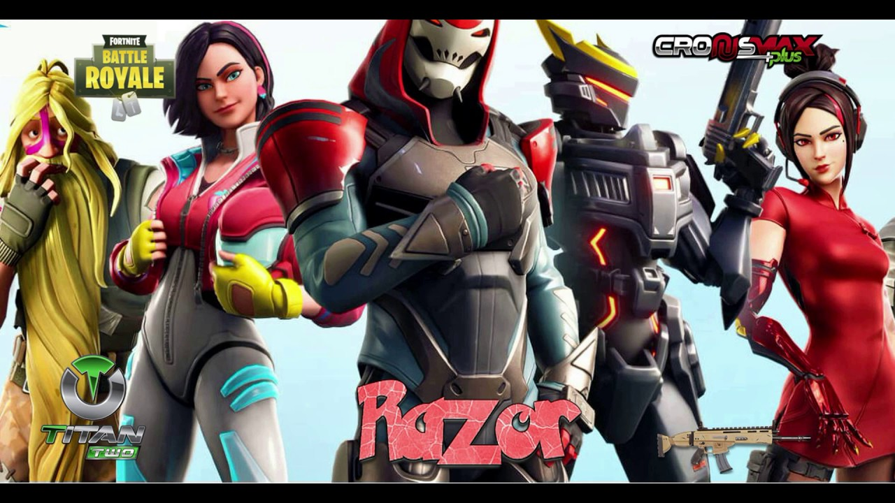 FORTNITE RAZOR 6 1 SEASON 9 BEST EVER AIM ASSIST / ABUSE CRONUSMAX TITAN  TWO PS4 XBOX ONE PC
