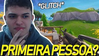 5 GLITCHS OF FORTNITE SEASON 9!!! Fortnite in first person??