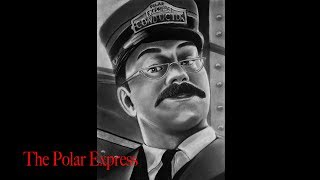 Polar Express Conductor Time Lapse Drawing
