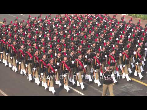 Indian Army marching
