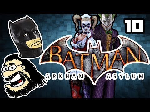 IRL - Batman: Arkham Asylum Game of the Year Edition Ep10 - Cookies in Hell |