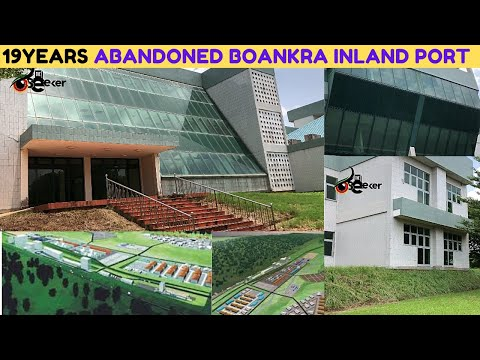 Full Video: '19years-Abandoned' BOANKRA INLAND PORT PROJECT in Ashanti Region of Ghana...since 2001.