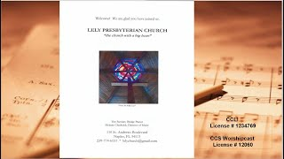 Lely Church Service  - 11-29-2020 - 1st Sunday of Advent