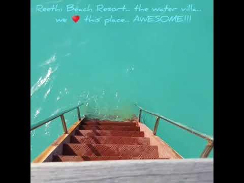 Reethi Beach Resort Maldives Water Villa June 2018