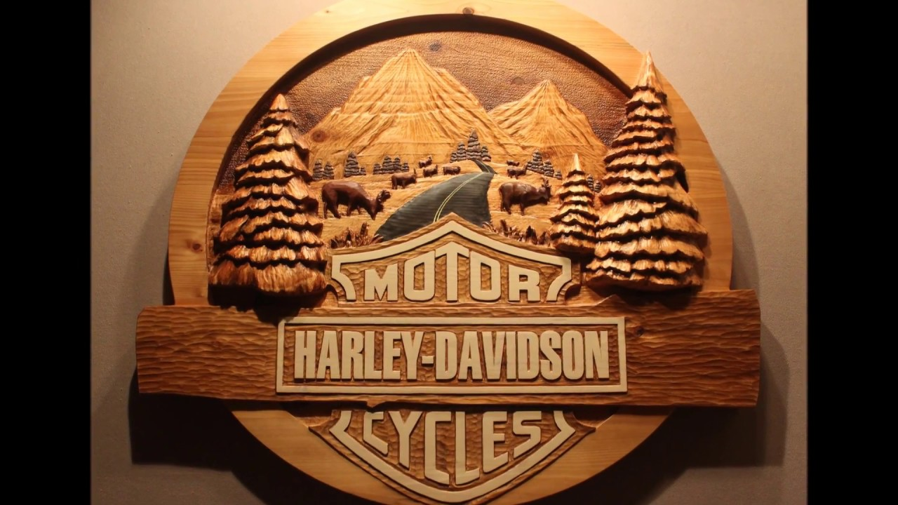 Hand carved wood sign by fox wood signs youtube