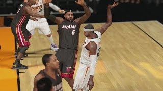 NBA 2K14 PS4 My Career - LeBron Flops!