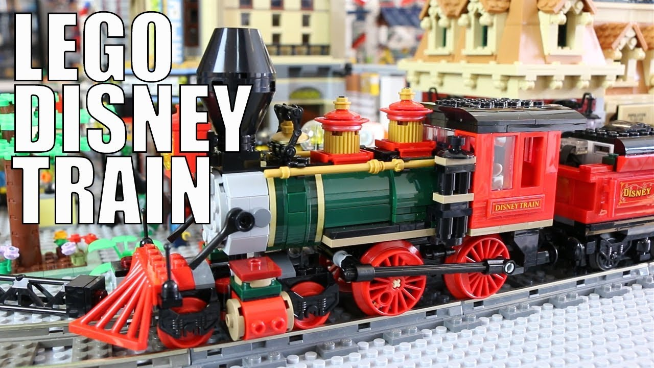 LEGO Disney Train and Station 71044: Drive Through The New Ukonio City!