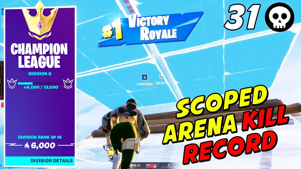 Scoped Shows How To Get Almost 1000 A Points In ONE Game After Dropping 31 Kills in Champions League