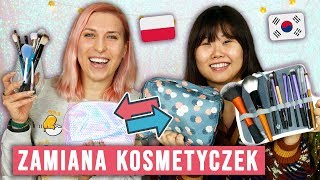 ♦ Zamiana kosmetyczek z Koreanką! 🇰🇷 😱 ♦ Agnieszka Grzelak Beauty