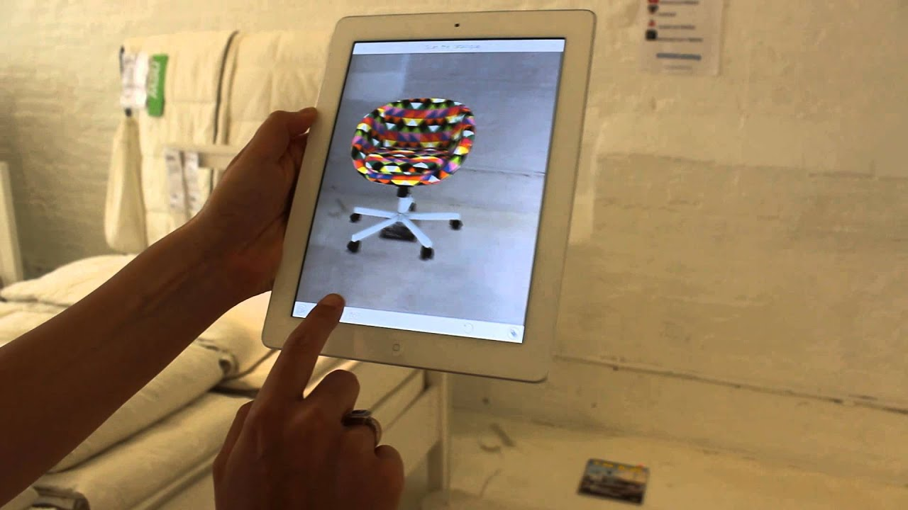 IKEA's Augmented Reality App - YouTube