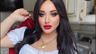Тюнингуюсь с Гоар Аветисян красивый макияж красные губы от Goar Avetisyan Instagram