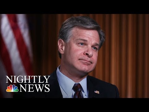 FBI Director: No White House Pressure On Russia Investigation | NBC Nightly News