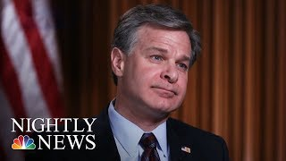 FBI Director: No White House Pressure On Russia Investigation | NBC Nightly News 2017 Video