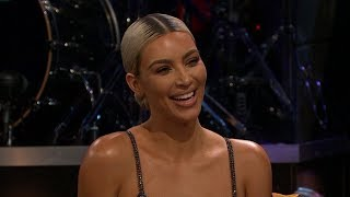 Kim Kardashian Drinks Sardine Smoothie & Refuses To Address Family Pregnancies