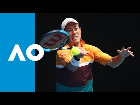 Kamil Majchrzak v Kei Nishikori match highlights (1R) | Australian Open 2019