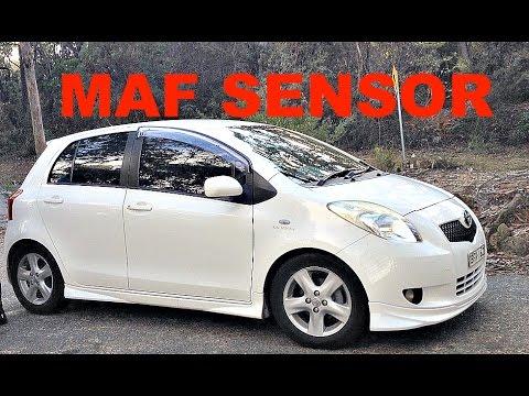 How To Clean (MAF) Mass Air Flow sensor 2006-2017 Toyota Yaris