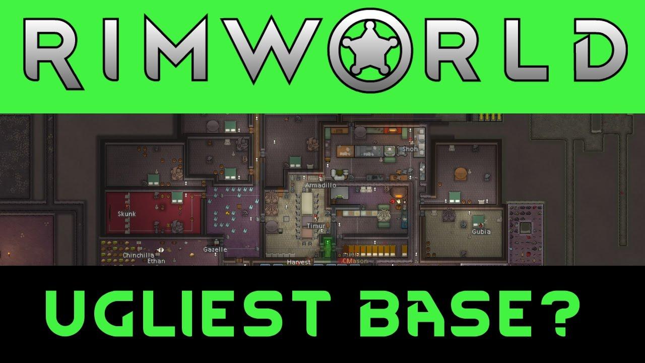 RIMWORLD: Ugliest most beautiful base?