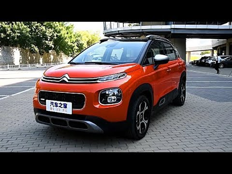 The New 2018 Citroen C4 Aircross Overview For China