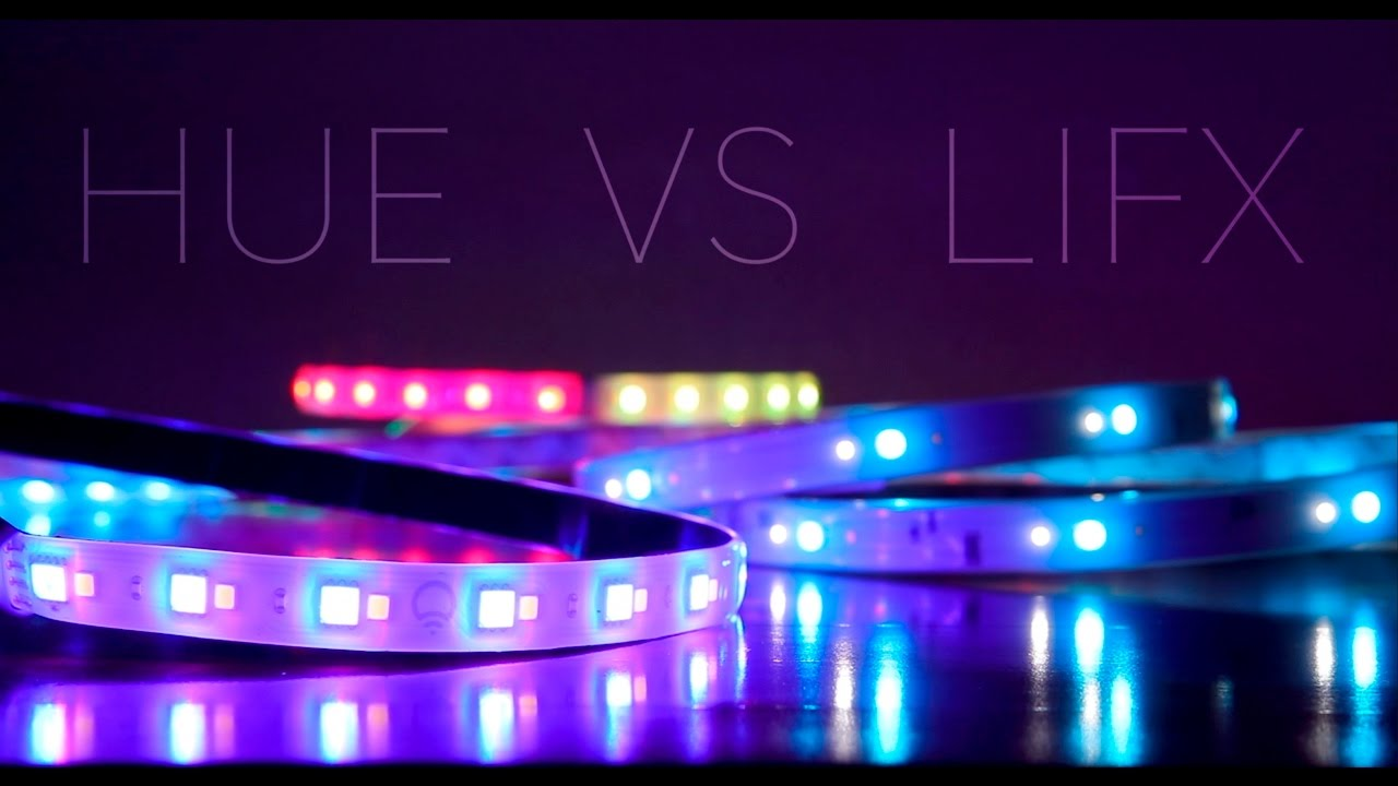 philips hue light strip plus vs lifx z strip youtube. Black Bedroom Furniture Sets. Home Design Ideas
