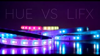 Philips HUE Light Strip Plus VS LIFX Z Strip