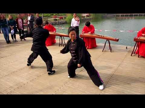 Tai Chi at Yixing, Jiangsu 在江苏宜兴太极拳