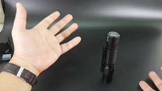 Trên tay đèn pin siêu sáng Olight M2R Warrior