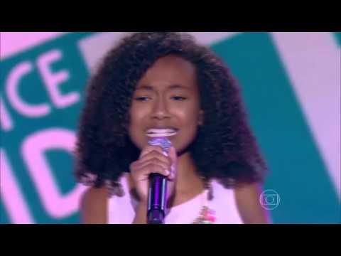 Sofia Ferreira canta 'Desculpe o Auê' no The Voice Kids - Audições | Temporada 1