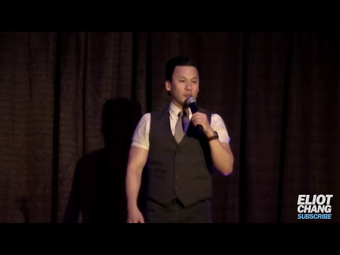 One hour of stand up comedy by Eliot Chang