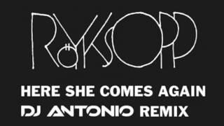 Скачать Ro Yksopp Here She Comes Again DJ Antonio Remix HD