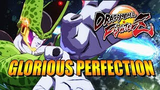 CELL'S GLORIOUS PERFECTION! DragonBall FighterZ - Online Matches(Beta)