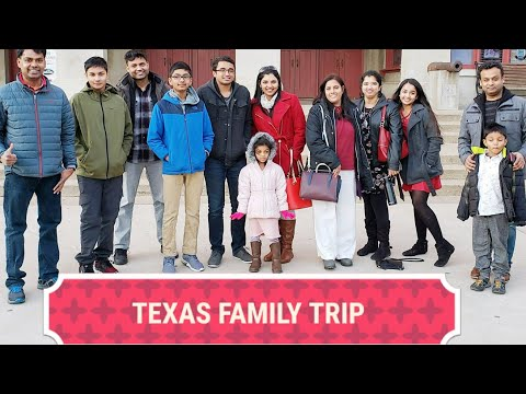 VLOG | TEXAS FAMILY TRAVEL VLOG | Priyameena Manoharan