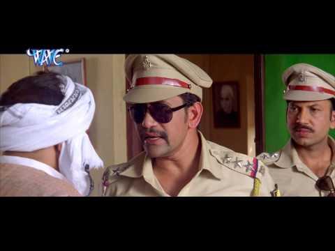 वर्दी वाला गुंडा - Bhojpuri Comedy Scene   Vardi Wala Gunda   Dinesh Lal Yadav Nirhua