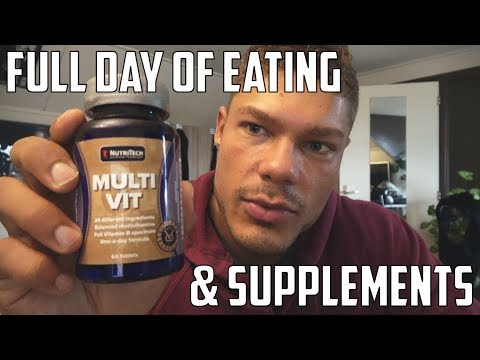 4 Days Out from The Grand Prix PEPA - FULL DAY OF EATING & SUPPLEMENTS I USE