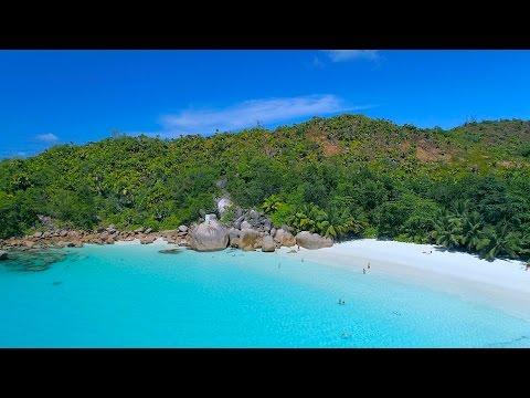 Dronie Anse Lazio - Seychelles 4K