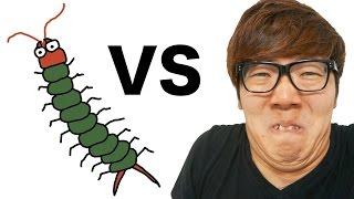 【閲覧注意】ヒカキン vs 巨大ムカデ! thumbnail