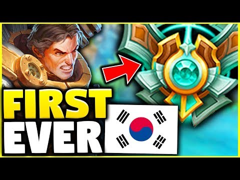 A GAREN MAIN HITS MASTERS IN KOREA FOR THE FIRST TIME EVER! HERE'S HOW! - League of Legends